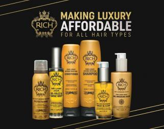 Estonian beauty brand RICH Hair Care launched its product line in